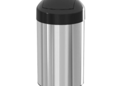 Tonsor bin trash bin 20 liters – stainless steel bucket – akaelectric