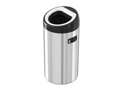 سطل زباله استیل شوت بین 40 لیتری – اکاالکتریک