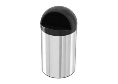 سطل زباله استیل کاپ بین 40 لیتری – اکاالکتریک