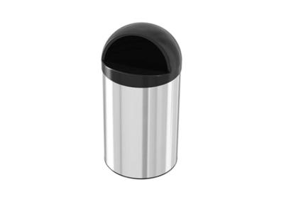 سطل زباله استیل کاپ بین 30 لیتری – اکاالکتریک