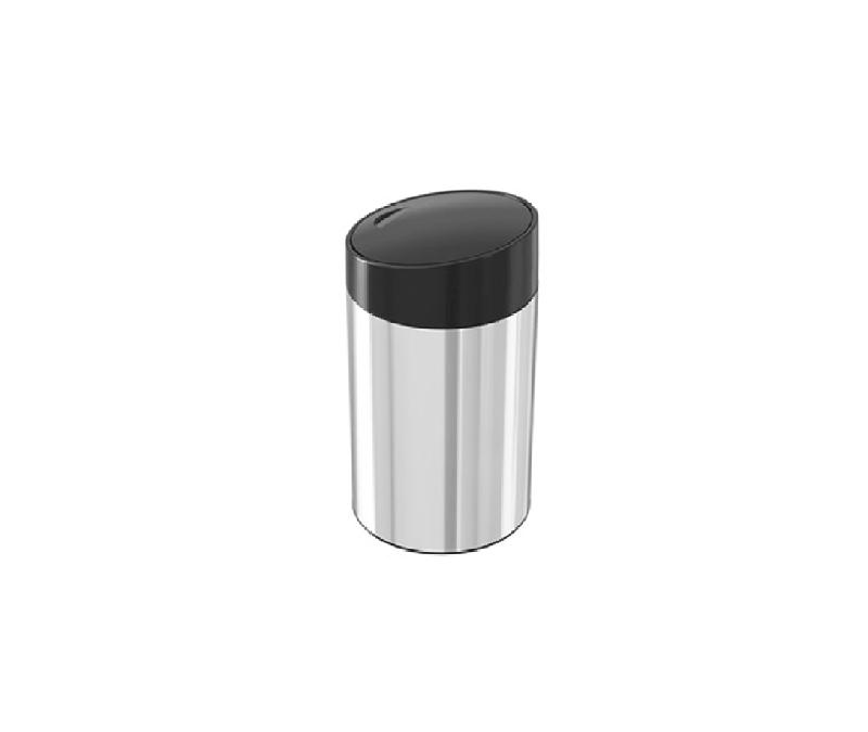 5 liter stainless steel sliding door trash – akaelectric