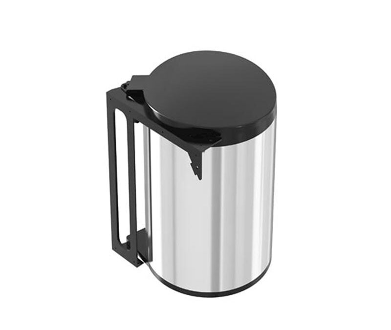Stainless Steel Cabinet Trash, Built-in Cabinet Trash – akaelectric