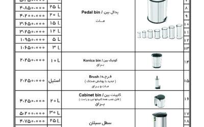 تشمل قائمه أسعار منتجات آکا الکتریک جمیع أنواع الصنادیق المنزلیه وآلات تقطیع الخضار